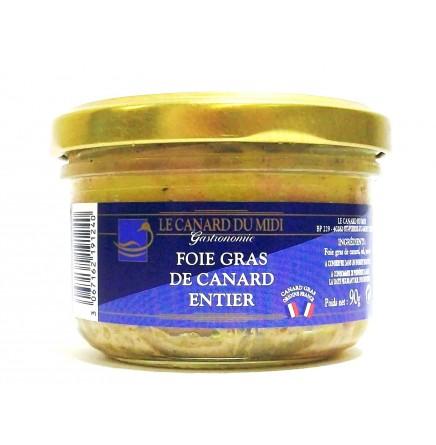 Foie gras de canard entier - 90g (non bio)