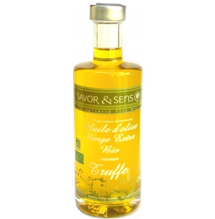 Huile d'olive truffe
