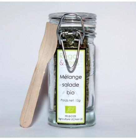 Mélange aromatique bio pour la salade