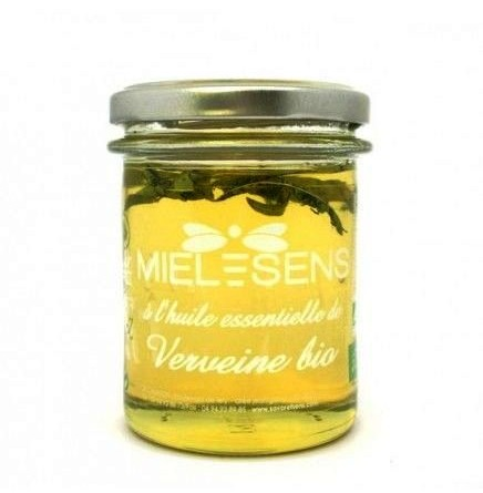 Miel à l'huile essentielle de verveine bio