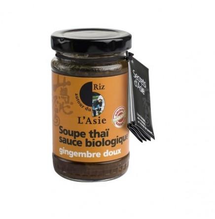 Sauce pour soupe Thaï au gingembre doux bio