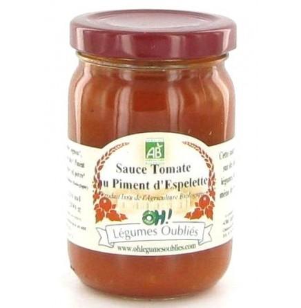 Sauce tomate aux oignons et piments bio